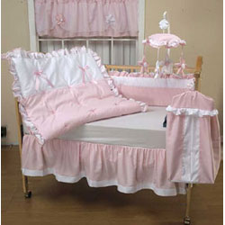 Darling Pique Crib Bedding