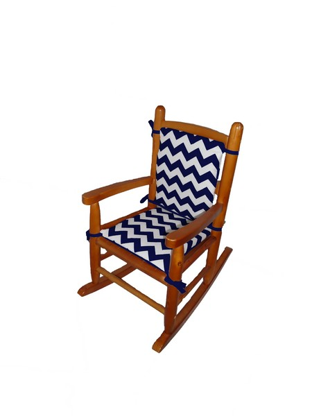 Chevron Junior Rocking chair Pad
